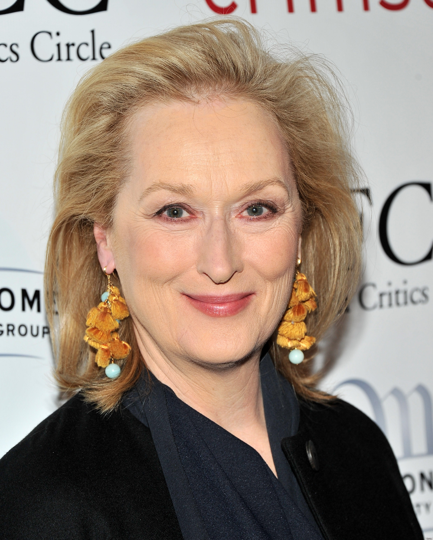 Meryl Streep S Fun Tassel Earrings At The New York Film