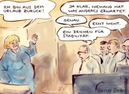 Merkel wieder da