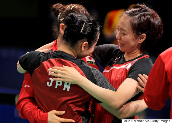 table tennis japan womens