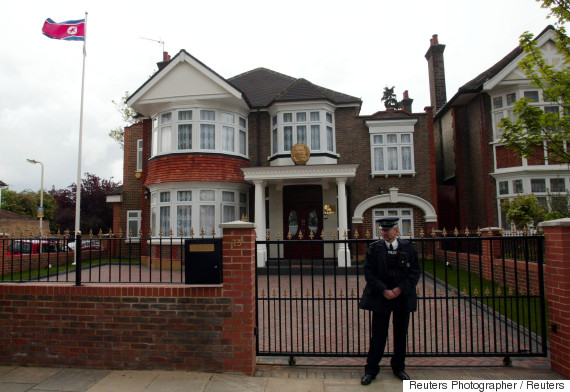 north korea london embassy