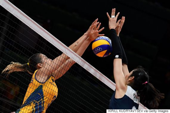 brazil china volleyball