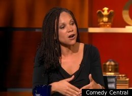 WATCH: Melissa Harris-Perry Spars With Stephen Colbert