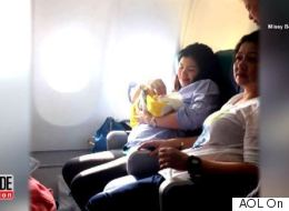 Airline Gives Baby Born Mid-Flight Best Gift EVER
