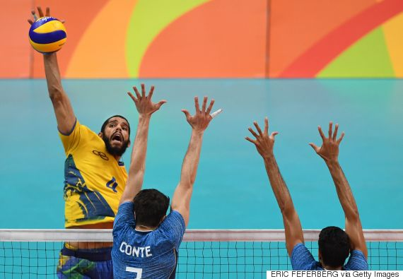 brazil argentina volleyball