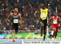 Andre De Grasse Almost Beat Usain Bolt. Almost.