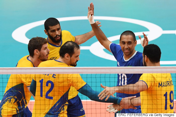 argentina brazil volleyball
