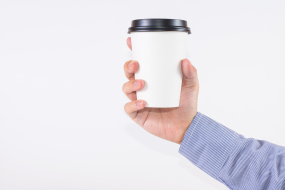 how to hold a coffee cup