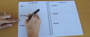 VIDEO BULLET JOURNAL AGENDA RENTREE