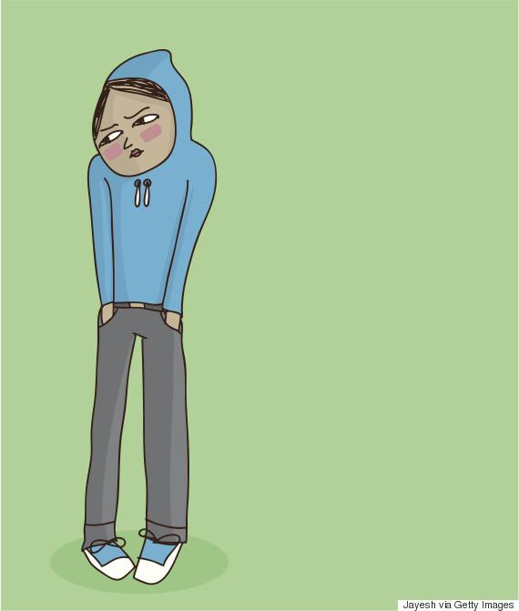 shy adolescent