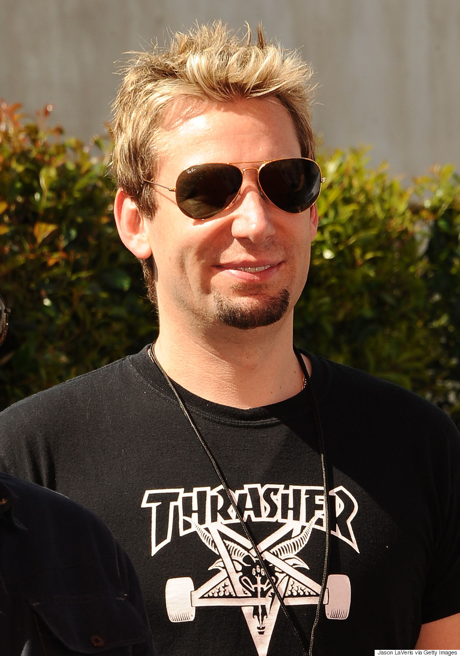 Nickelback S Chad Kroeger And His Hair Throughout The Years