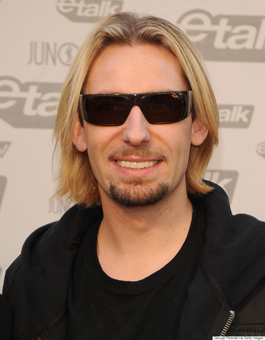Kröger nickelback s chad kroeger and his hair throughout the years