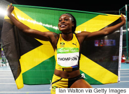 World's Fastest Woman Elaine Thompson Beats Usain Bolt To Rio Doubles
