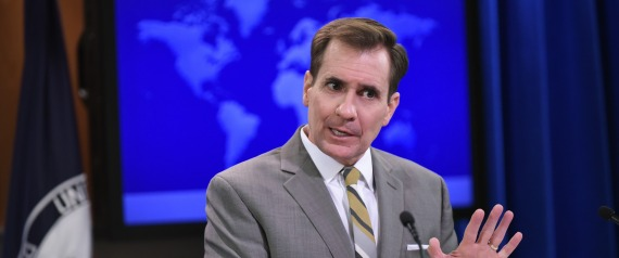 US STATE DEPARTMENT SPOKESMAN JOHN KIRBY