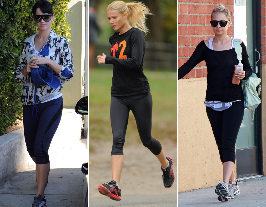 Gwyneth Paltrow Cameron Diaz And More Celebrities Sweat In Style Photos