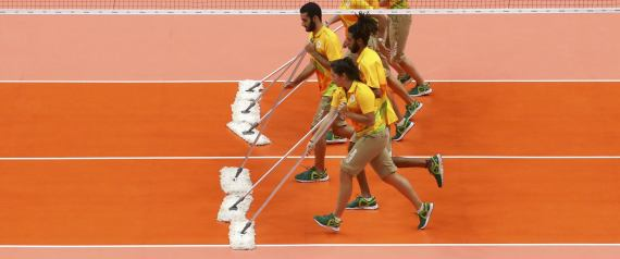 VOLUNTEERS DURING THE RIO 2016 OLYMPIC