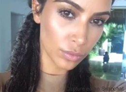 Kim Kardashian en bikini sur Snapchat (pour troller les paparazzis)