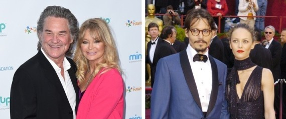 CELEB PARENTS WHO NEVER GOT HITCHED