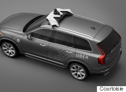 Uber et Volvo : place aux taxis autonomes (PHOTOS)