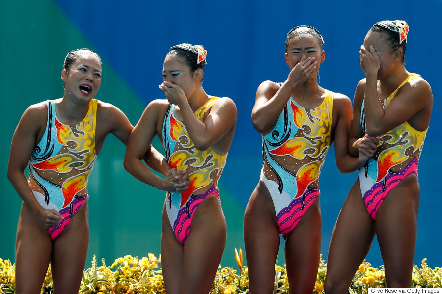 synchronised swimming japan