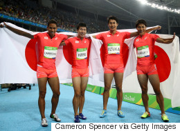 Japan's Relay Team Pulled Off The Biggest Surprise Of Rio