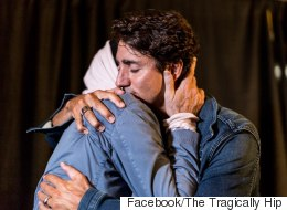 Gord Downie's Hug With Trudeau Had Nothing To Do With Politics