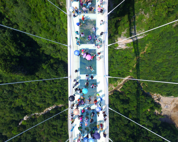 china highest glass bridge