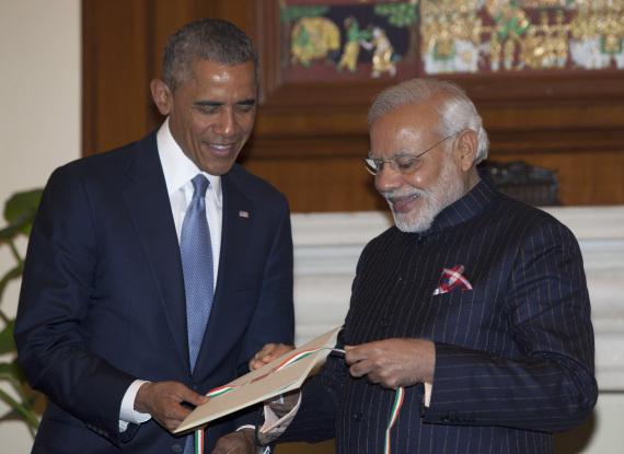 narendra modi met president obama