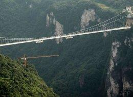 11 fotos del impresionante puente de cristal más grande del mundo