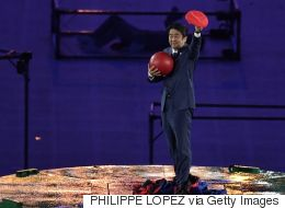 Japan's Prime Minister Was Super Mario At The Rio Closing Ceremony