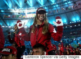 Rain Couldn't Dampen Team Canada's Spirits At The Rio Closing Ceremony