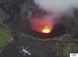 가장 활발하게 활동하는 이 화산에 인터넷이 설치된 이유(사진, 영상)