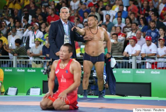 ganzorig mandakhnaran bronze coach