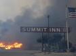 La California brucia ancora. Distrutto il Summit Inn, il diner della mitica Route 66