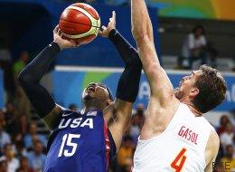 El España-EE UU de baloncesto masculino, la emisión televisiva más vista de los Juegos