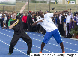 Prince Harry Sends Usain Bolt The Best Birthday Message