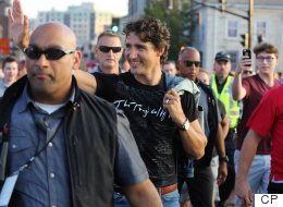 Justin Trudeau's Tragically Hip Concert Wear Was Decidedly Canadian