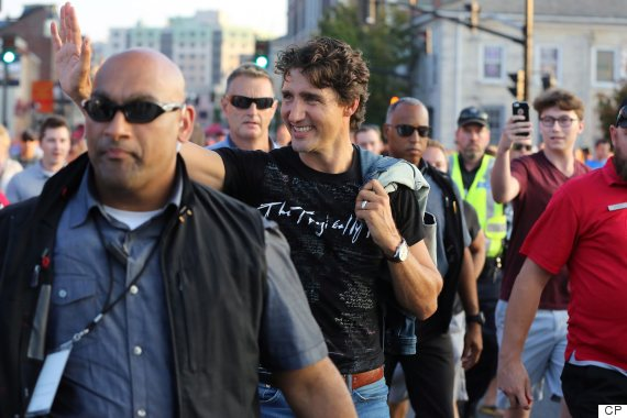 justin trudeau tragically hip