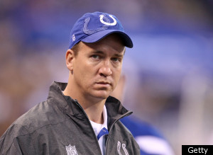 Peyton Manning Colts Gm