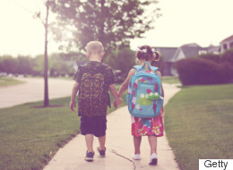 Mom Showcases Kids' Hilarious Reactions To Going Back To School