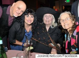 Joni Mitchell Looks As Lovely As Ever In Rare Public Appearance