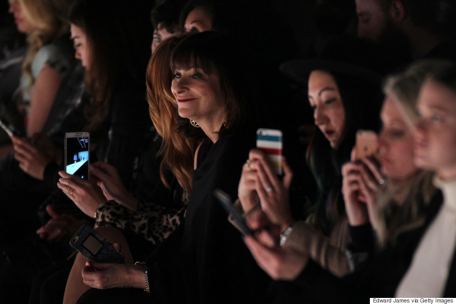 jeanne beker toronto fashion week