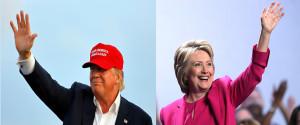 Hillary Trump Split