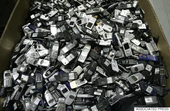 smartphone waste