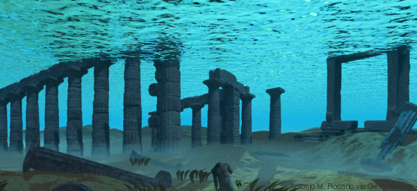Il regno di Atlantide? È la Sardegna. E le colonne d'Ercole sarebbero in Sicilia