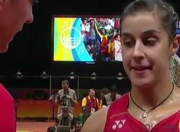 El tremendo zasca de Carolina Marín a su entrenador: