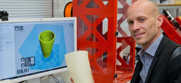 Schnelle Hilfe für Minen-Opfer: Prothesen aus dem 3D-Drucker