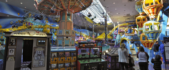 INDOOR AMUSEMENT PARKS