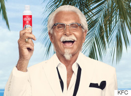 KFC Launches Fried Chicken-Scented Sunscreen