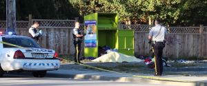 SURREY DONATION BIN DEATH