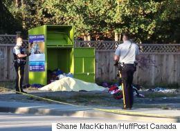 Man Found Dead In B.C. Charity Donation Bin